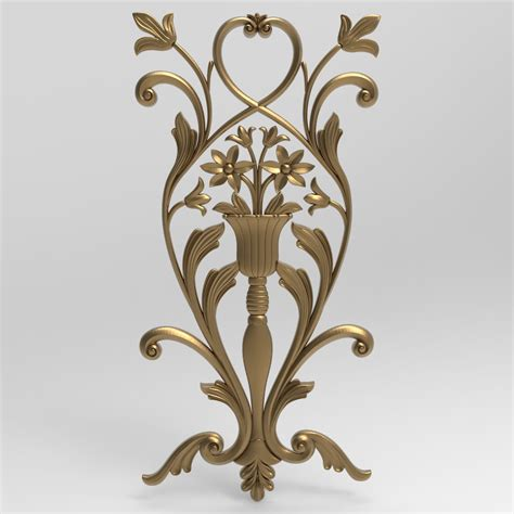 Decor wood panel 3 18 000 polys turbosmooth ð½ðµ ð°ðºñ'ð¸ð²ð¸ñ€ð¾ð²ð°ð½ file max.13, fbx, obj. 3D STL Model (0129) - Wall Covering Panels, Carved Wood Wall Decor | STL Files for Sale, 3D ...