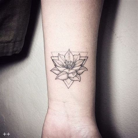 ideas  flower wrist tattoos  pinterest