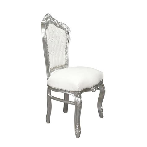 chaise style baroque pas cher baroque chair white ls bronze statue