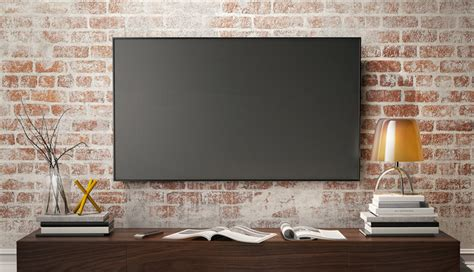 Fernseher Für Wand by Montage Der Perfekten Tv Wandhalterung F 252 R Den