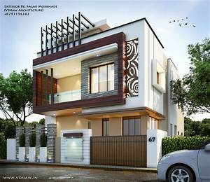 7, Pics, Modern, Front, Elevation, Home, Design, And, Description