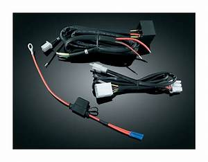 Kuryakyn Trailer Wire Harness And Relay For Harley 1996