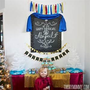 Inexpensive Frozen Anna DIY Birthday Party Ideas The DIY