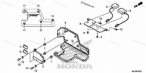 Honda Motorcycle 2012 Oem Parts Diagram For Navigation