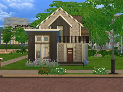cozy house mod the sims lovely cozy house no cc