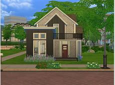 Mod The Sims Lovely cozy house No CC!