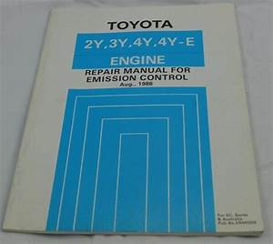 Toyota Repair Manual Engine Emission Control 1986 2y 3y 4y 4y E