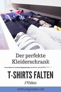 Magic Cleaning Kleidung Falten : der perfekte kleiderschrank t shirts falten video ordnung shirts falten t shirt falten ~ Orissabook.com Haus und Dekorationen