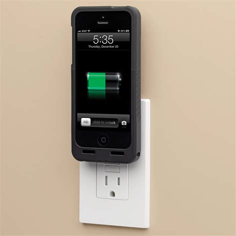 charging iphone 5s the cordless iphone 5 5s charging hammacher schlemmer