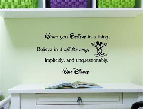 Disney Quotes For Bedroom Walls by Disney When You Believe And Vinyls On