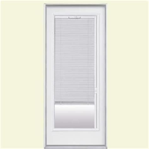 Masonite Patio Doors With Mini Blinds by Masonite Premium Lite Mini Blind Primed Steel Entry