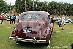 Rear View Of Classic American Car Editorial Image Image 33323625