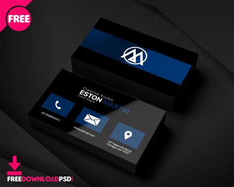 pro designer business card template freedownloadpsdcom
