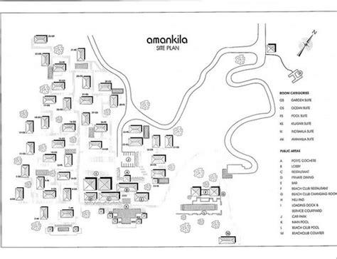 Amankila Site Map By Elitetraveler1a, Via Flickr  Ed