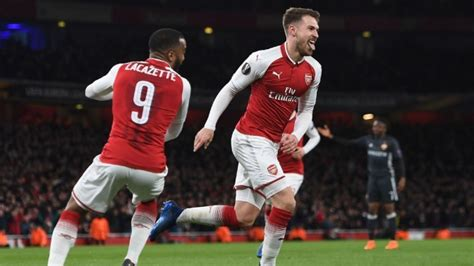 Arsenal qualify for Europa League knockout stage   London Evening Standard