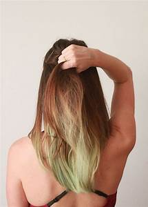 How To Dye Your Hair With Food Coloring Ecocult
