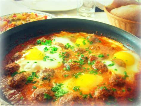 recettes de cuisine marocaine avec photos tajine kefta aux oeufs le cuisine de samar