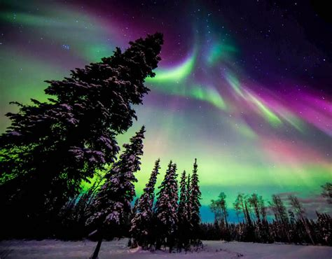 when is the northern lights what are the northern lights best places to see them