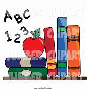 law school books clipart clipart suggest With letters and numbers book