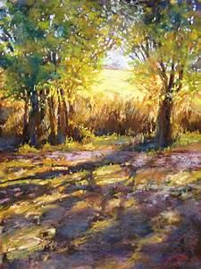 Pastel landscape | art | Pinterest