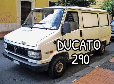 storia del furgone fiat ducato dal primo allultimo