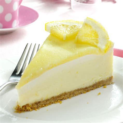Creamy Lemon Cheesecake Recipe   Taste of Home