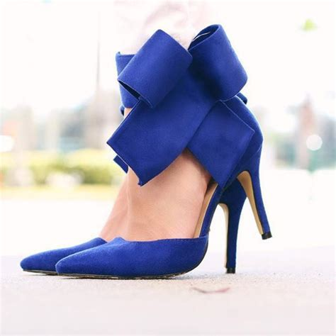 rhinestone heel boots royal blue high heels fs heel