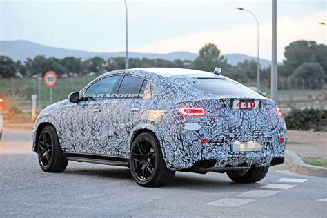 mercedes benz gle coupe reveals  sexy