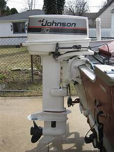 1987 Johnson 30 Hp Outboard