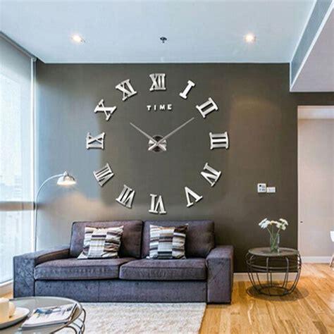Moderne Häuser Wohnzimmer by Gro 223 E Zeitgen 246 Ssische Wanduhren Trend