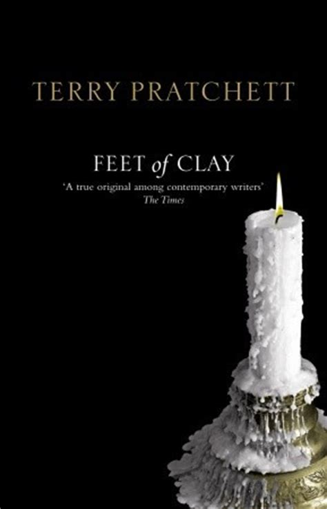 feet  clay discworld  city    terry pratchett reviews discussion bookclubs