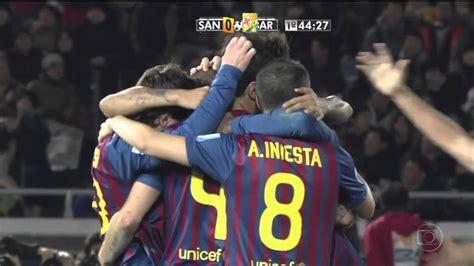 Barcelona x Santos