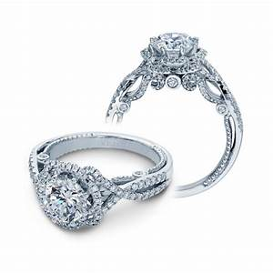 Verragio insignia 7087r 14 karat engagement ring tq diamonds for Wedding rings by verragio