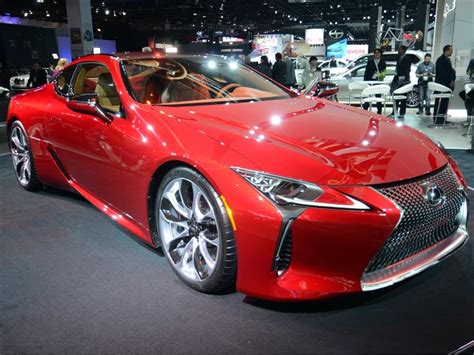 lexus lc    nuevo coupe deportivo