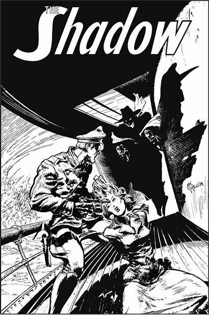 Shadow Kaluta Mike Jim Steranko Comic Comics