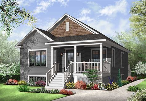 Attractive Two Bedroom House Plan 21783DR