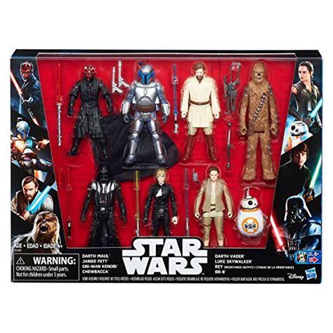 wars star action darth figure maul saga pack toys target skywalker figures hasbro luke walmart exclusive jango fett vader wan