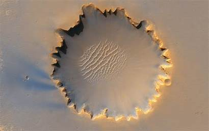 Mars Crater Victoria Wallpapers Backgrounds Desktop Planetary