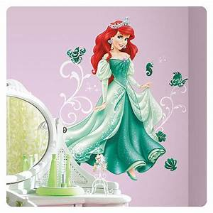 disney princess ariel giant wall decal roommates With where to buy little mermaid wall decals