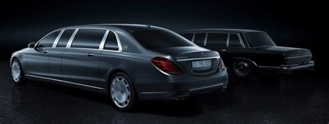 Optimal turning radius and maneuverability. Mercedes-Maybach Pullman - first look at the VV222, a 6.5-metre long, six-seater stretched W222 ...