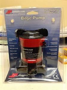 New Johnson Cartridge 500gph 12v Bilge Pump 189