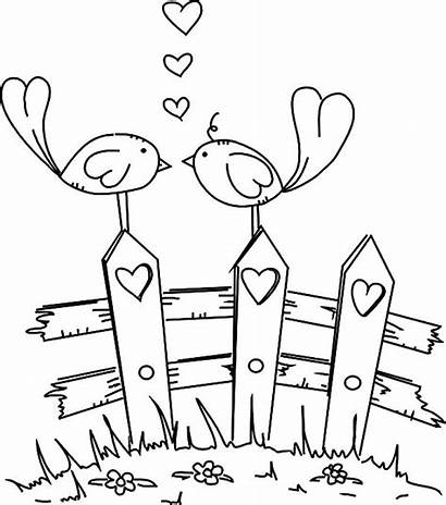 Coloring Pages Printable Birds Mom Adults Bird