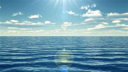 Ocean Oceans Flat Cord Power Sea Background