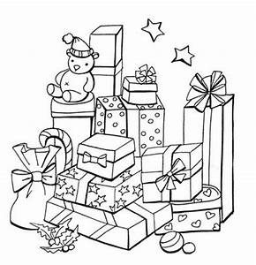 present coloring page - christmas colouring pages free to print and colour