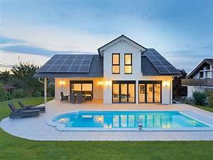 Haus Mit Schwimmbad : h user mit pool ~ Frokenaadalensverden.com Haus und Dekorationen
