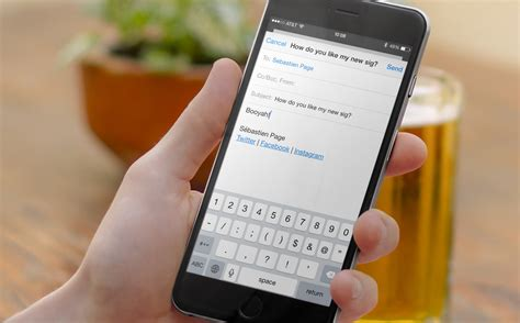 create a phone how to create an html email signature on iphone or