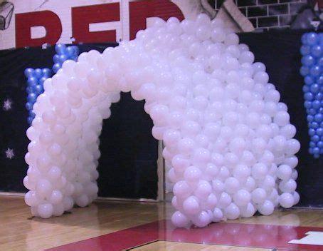 igloo tunnel icicles balloon diy balloon decorations
