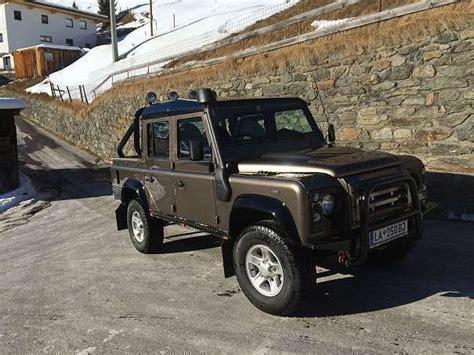 land rover defender gebraucht verkauft land rover defender 110 dcpu gebraucht 2007 125 500 km in kappl