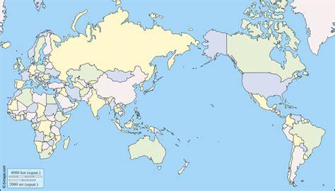 Carte Du Monde Gratuite by Monde Centr 233 Pacifique Carte G 233 Ographique Gratuite Carte