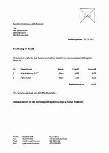 Rechnung Als Kleinunternehmer : kostenlose rechnungsvorlage vorlagen muster f r rechnungen ~ Themetempest.com Abrechnung